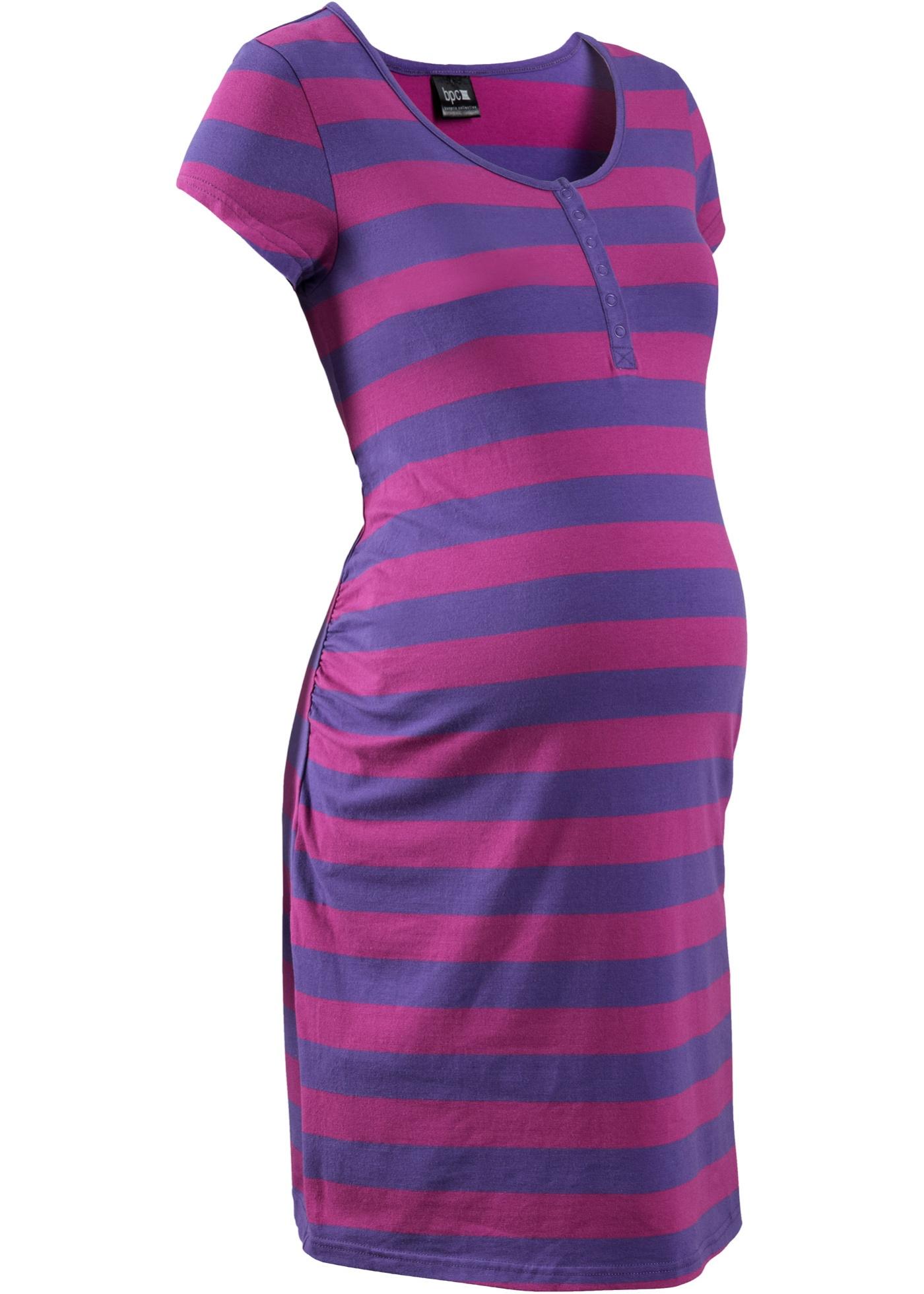 Camicia da notte per l'allattamento (viola) - bpc bonprix collection - Nice Size