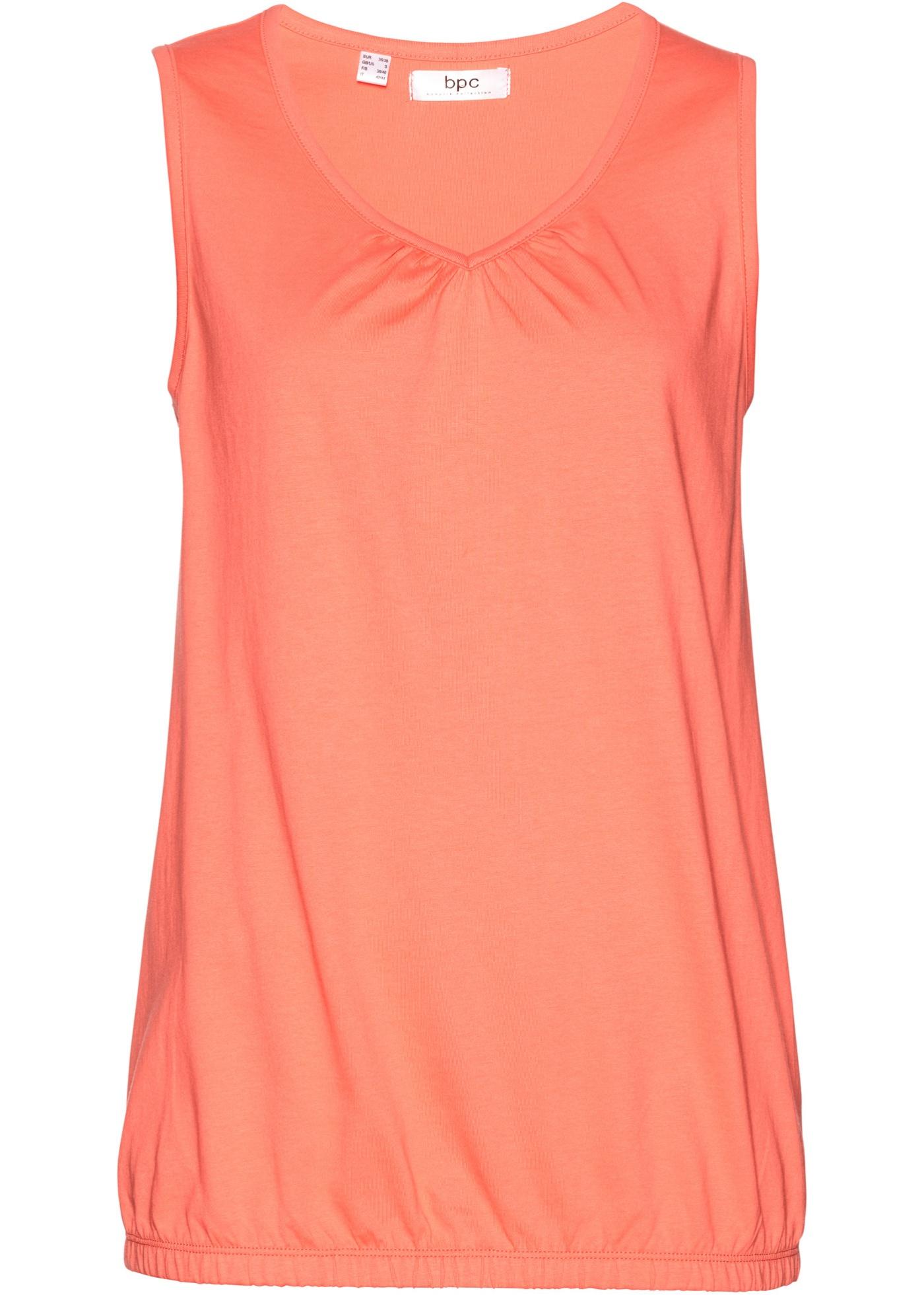 Top in cotone  Arancione