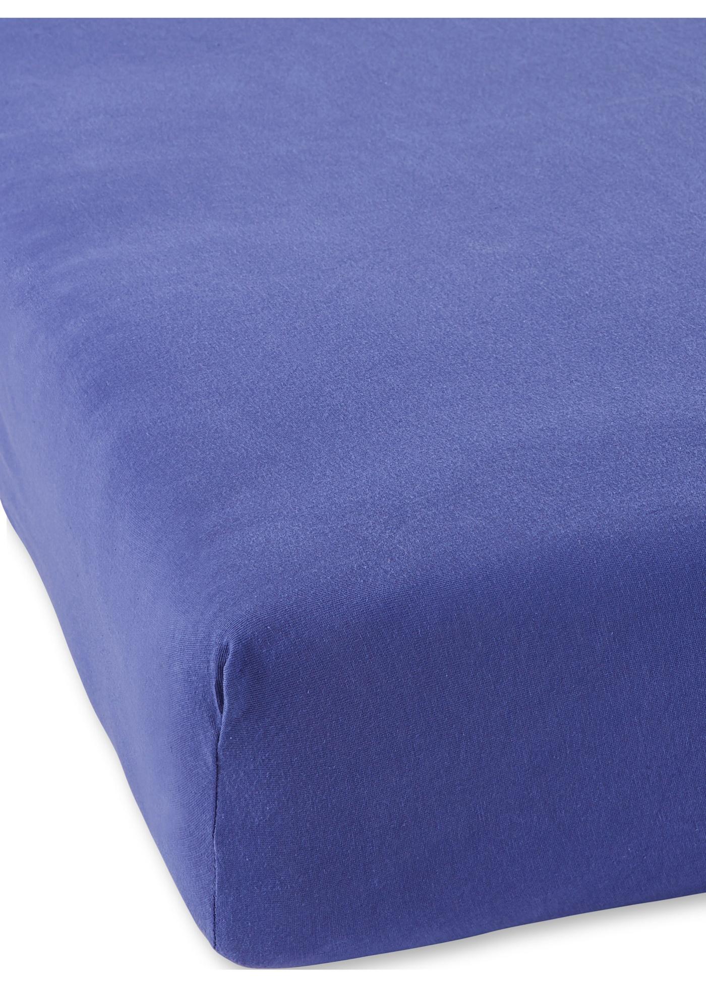 Lenzuolo con angoli in jersey di alta qualità (Blu) - bpc living bonprix collection