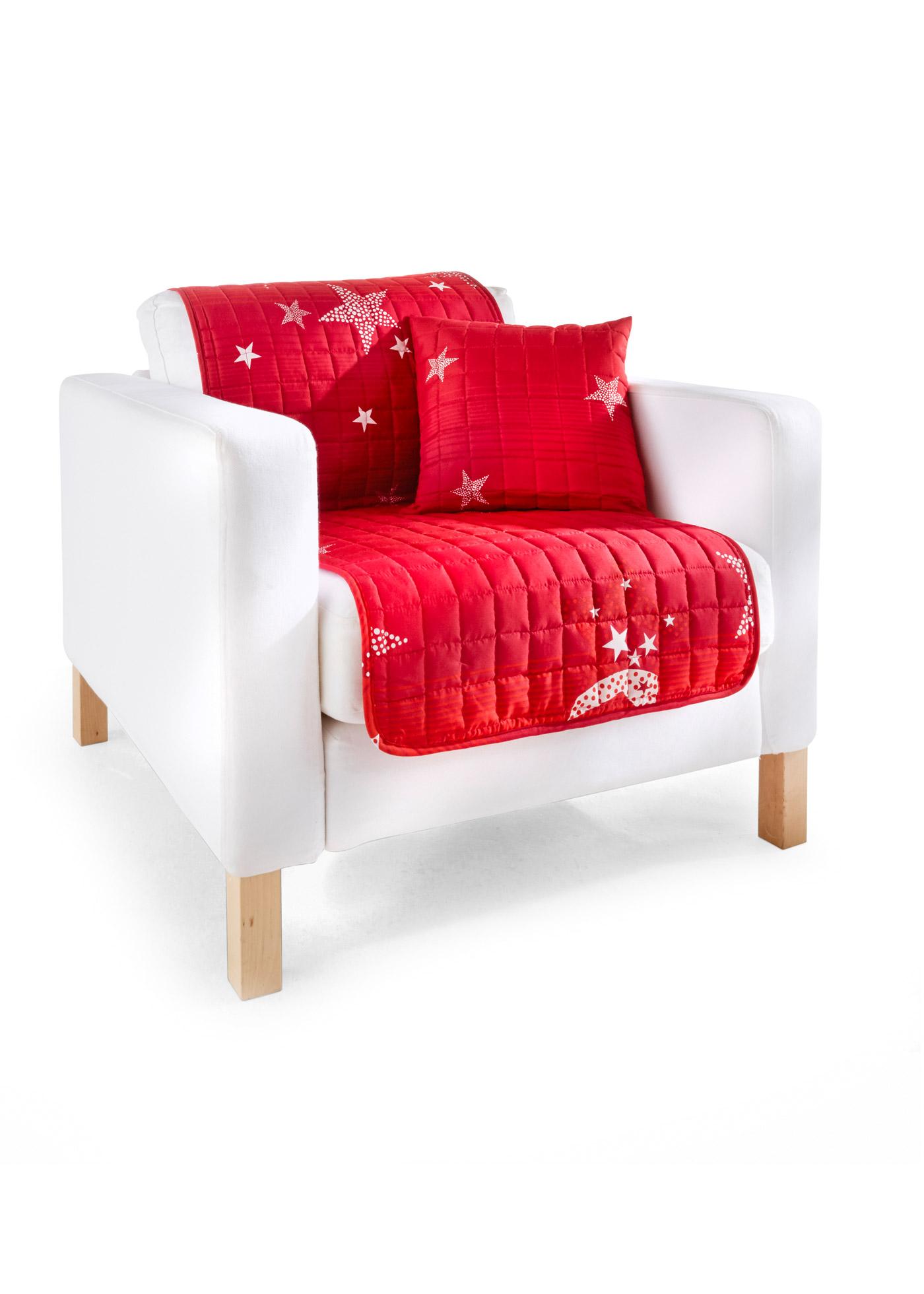 Copridivano Stelle (Rosso) - bpc living