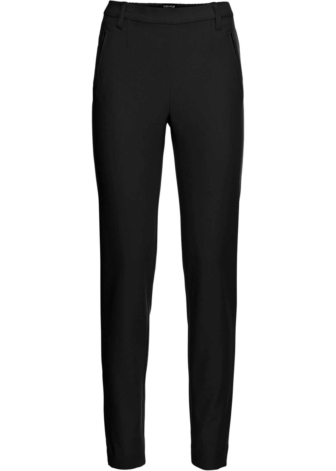 Pantalone business con elastico (Nero) - BODYFLIRT