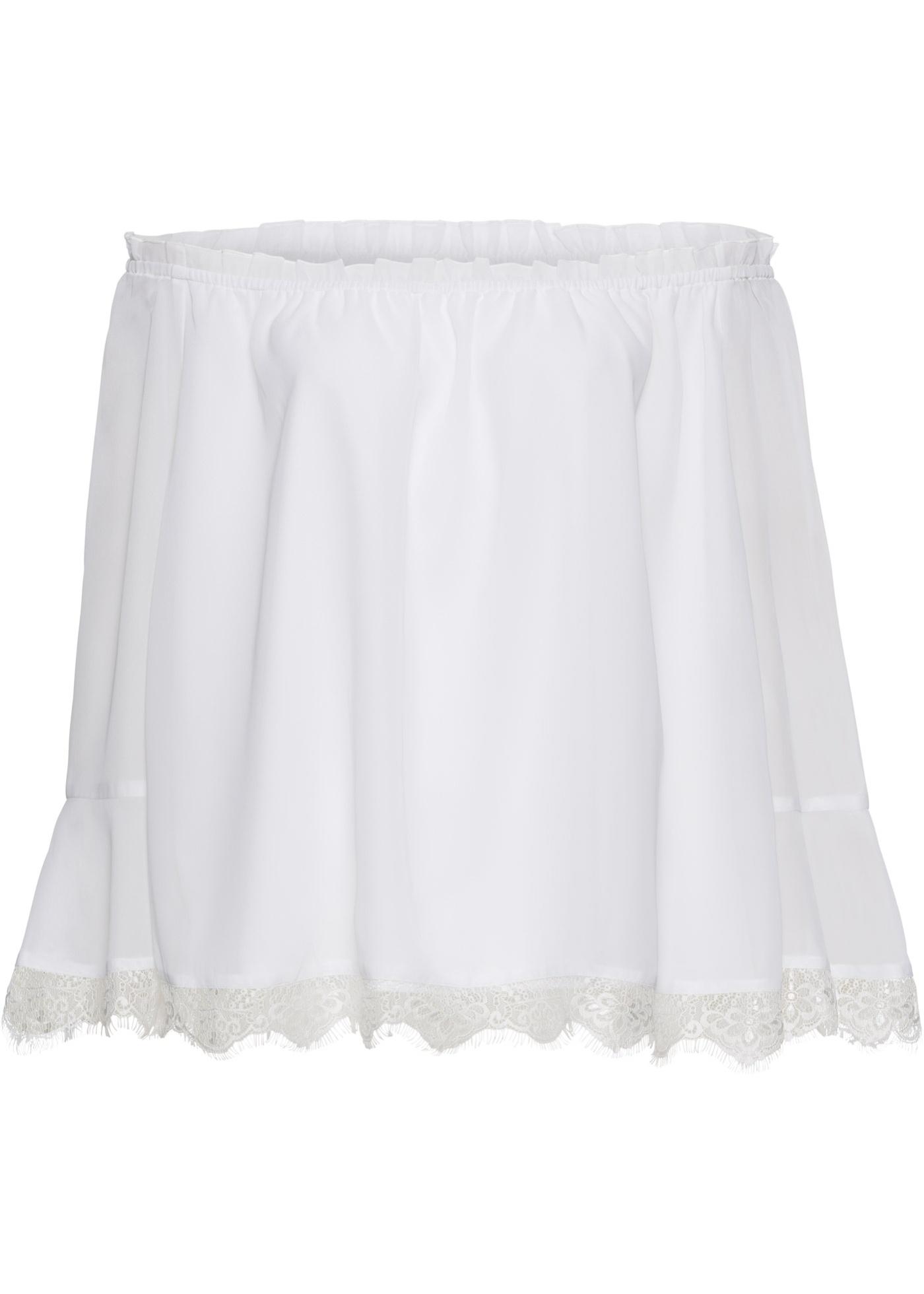 Blusa (Bianco) - BODYFLIRT boutique