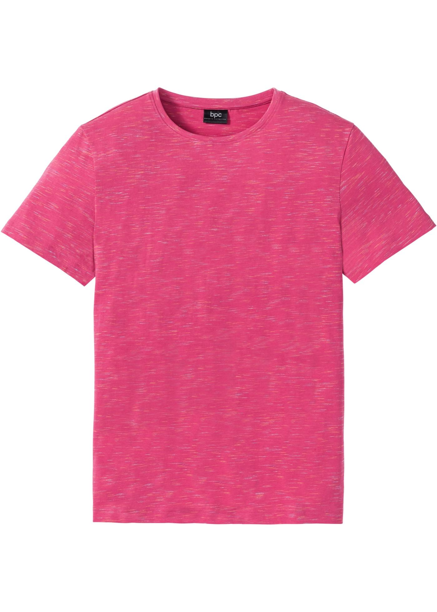 T-shirt melange  Fucsia