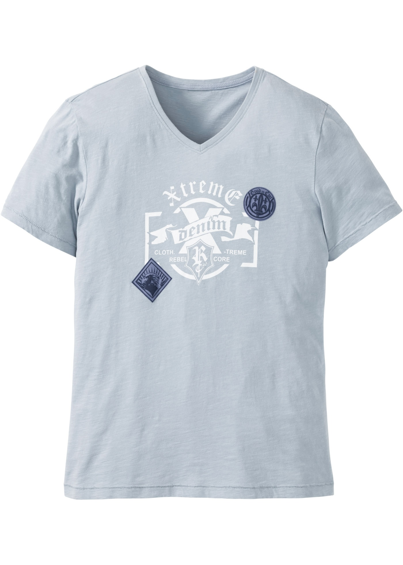 T-shirt slim fit  Grigio