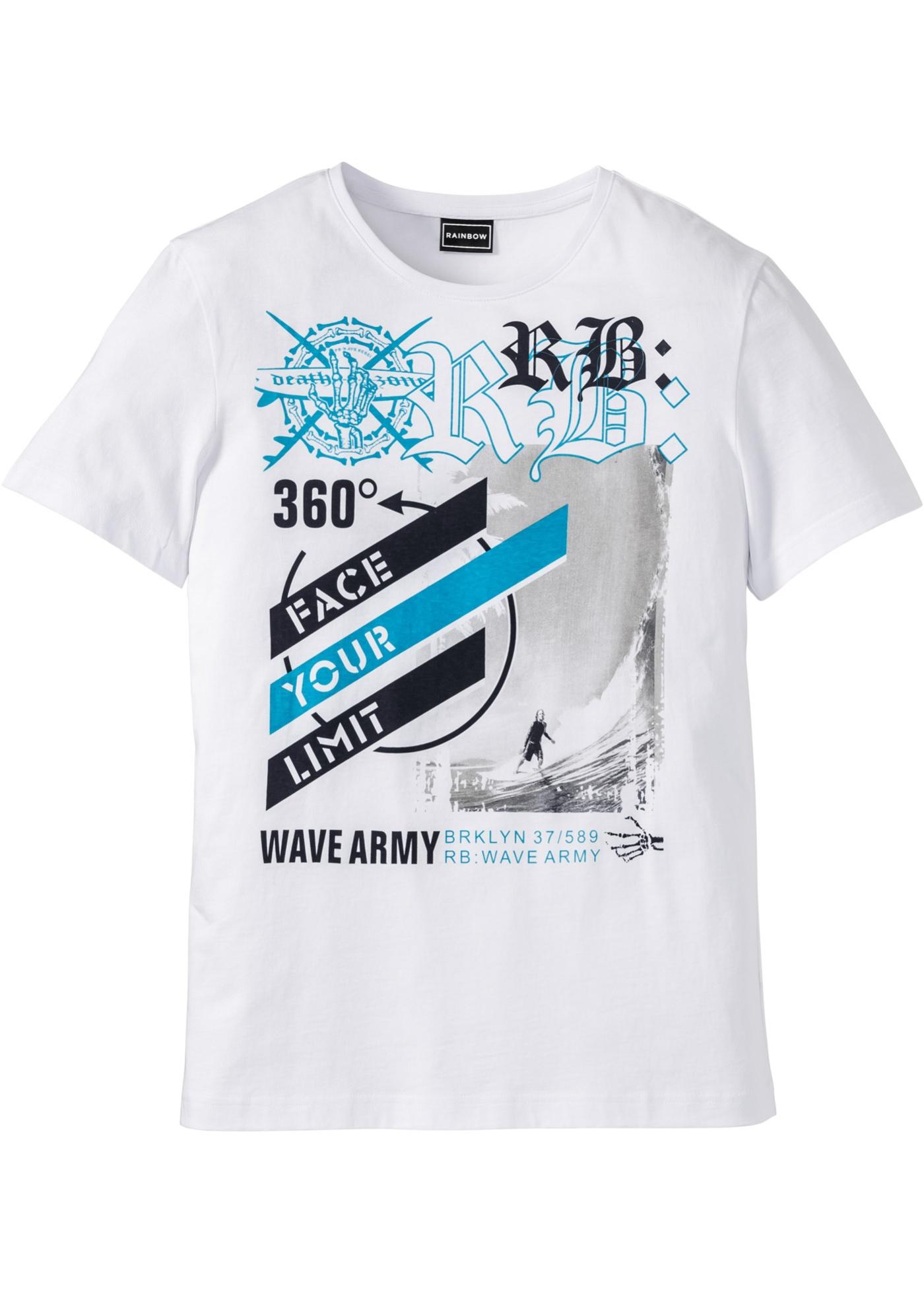 T-shirt slim fit  Bianco