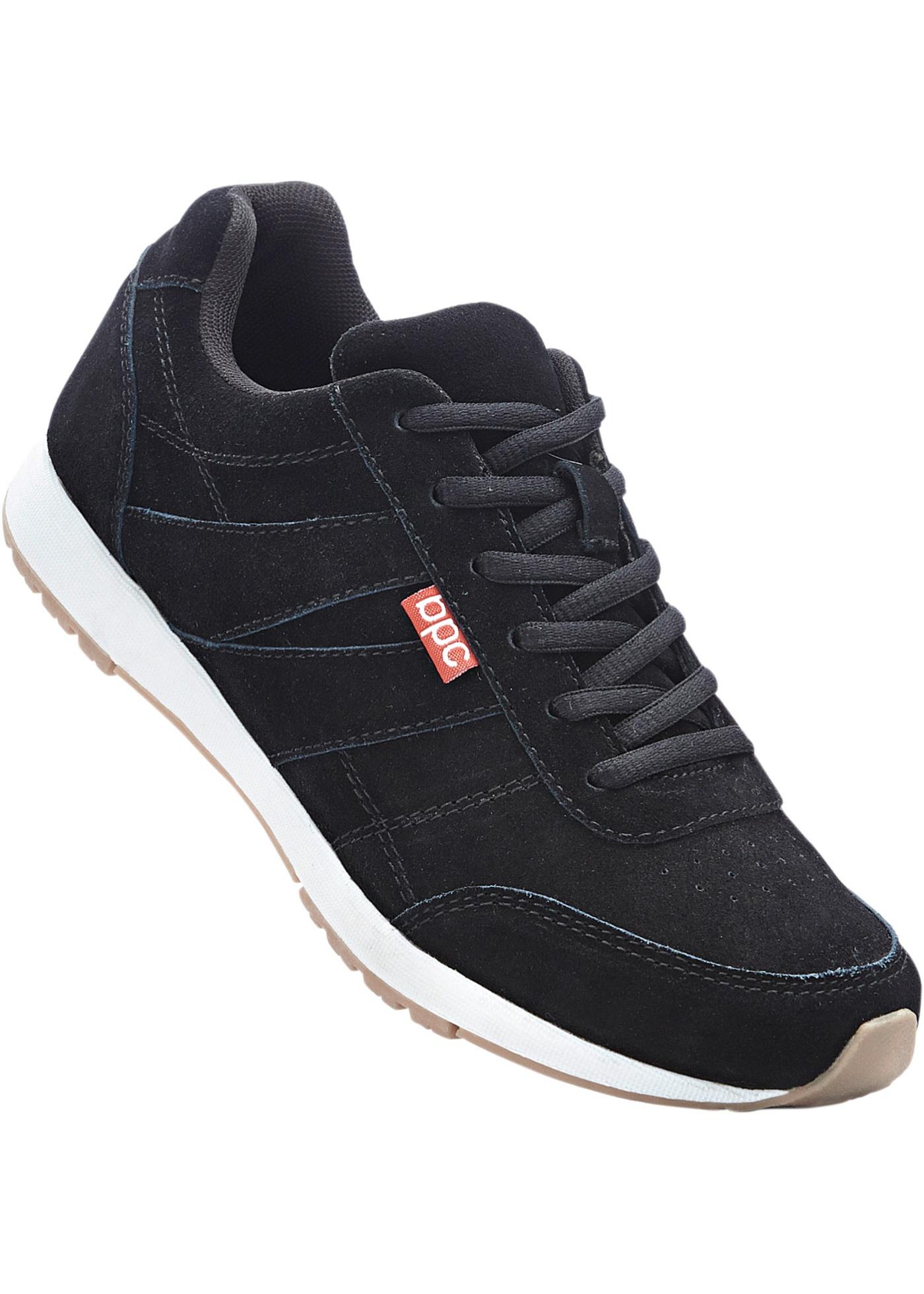 Sneaker in pelle  Nero  -
