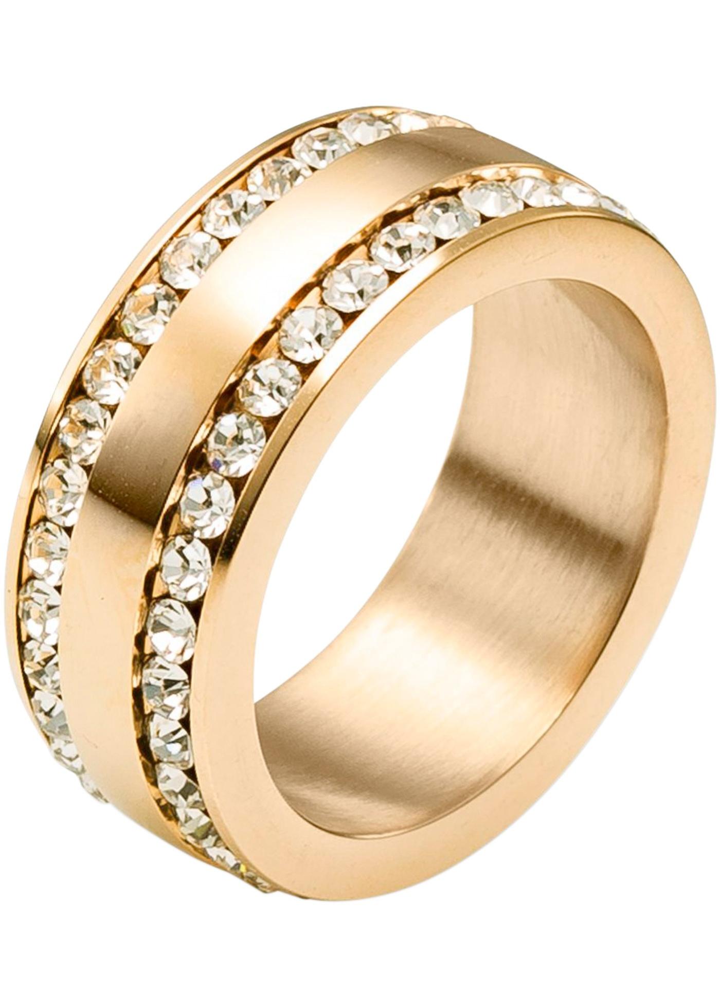 Anello in acciaio  Oro  -