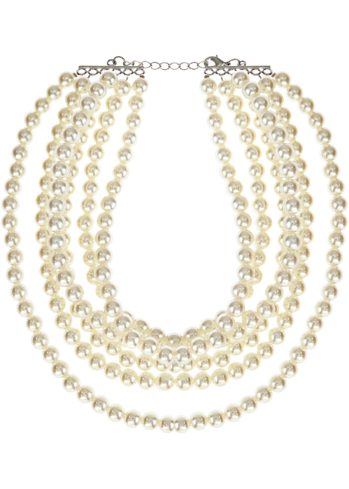 Collier di perle a più fi