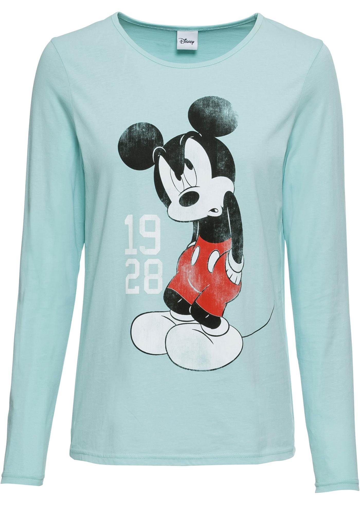 Maglia a manica lunga con Mickey Mouse (Blu) - Disney