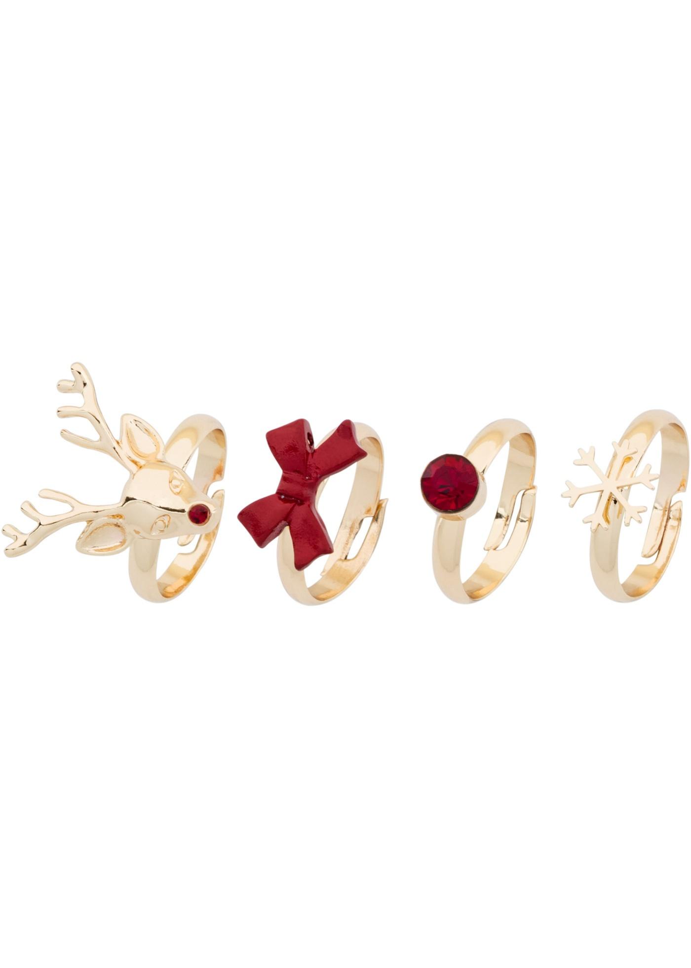 Set di anelli  set 4 pezz