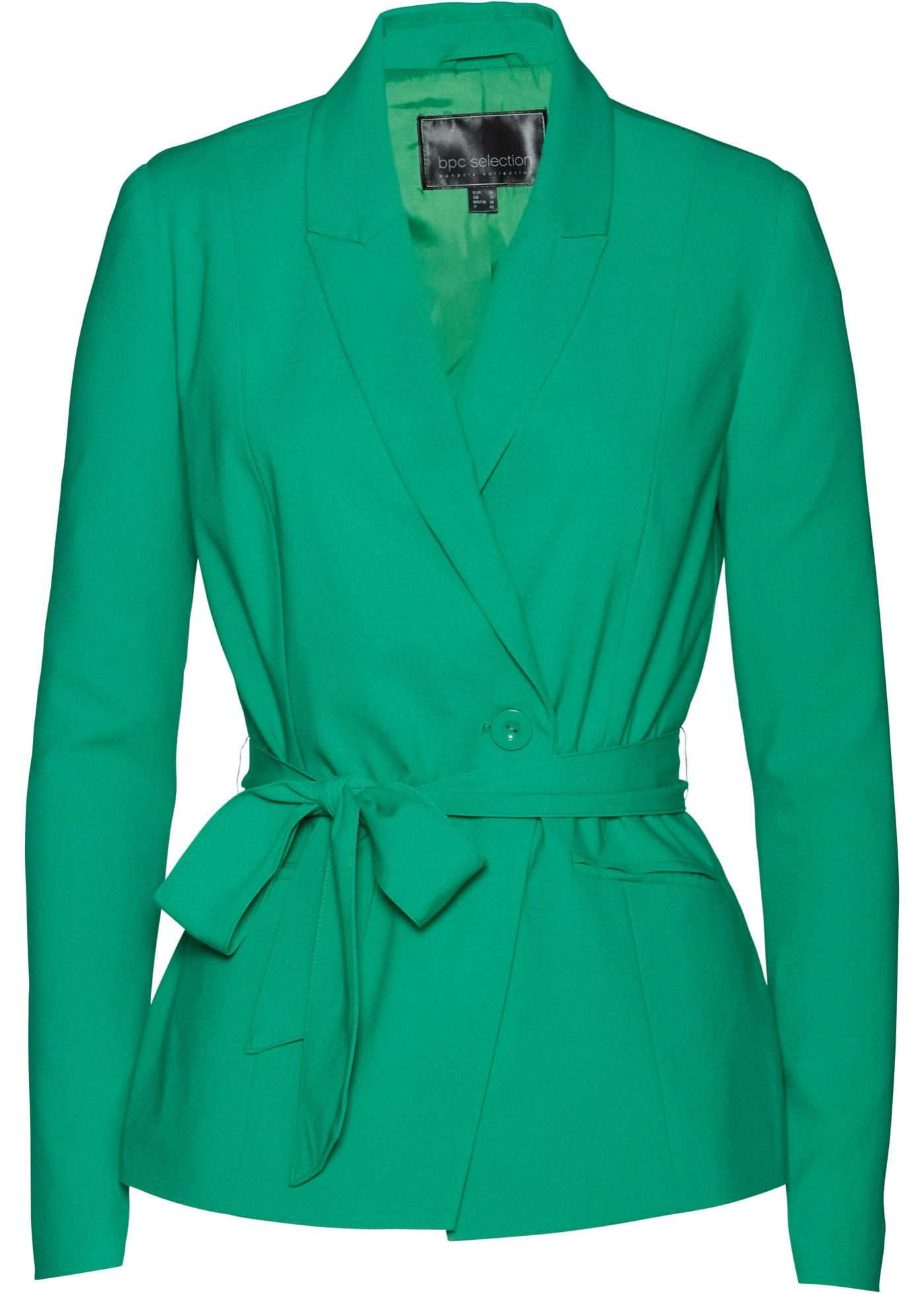 Blazer con cintura (Verde) - bpc selection