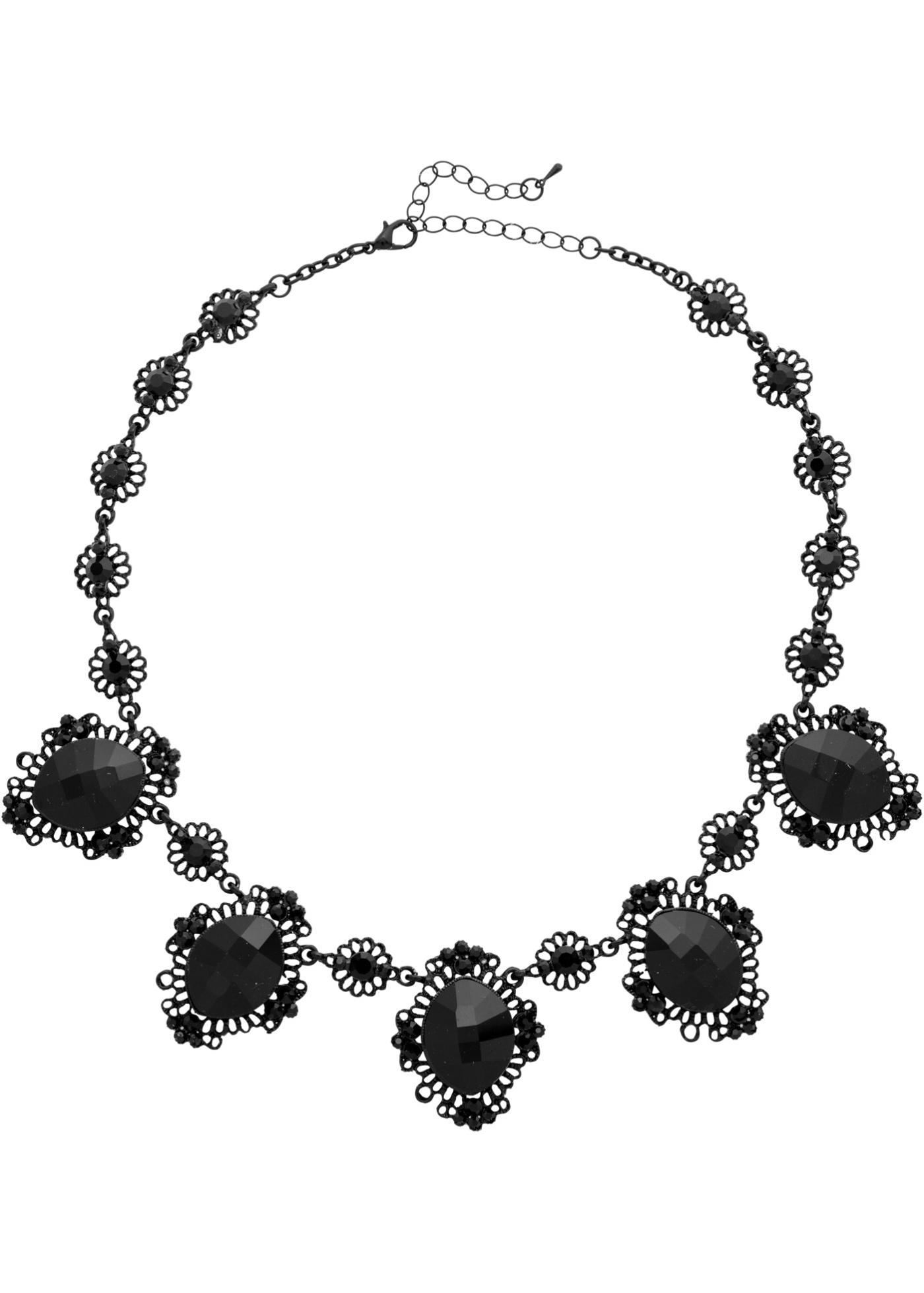 Collana Barocco  Nero  -