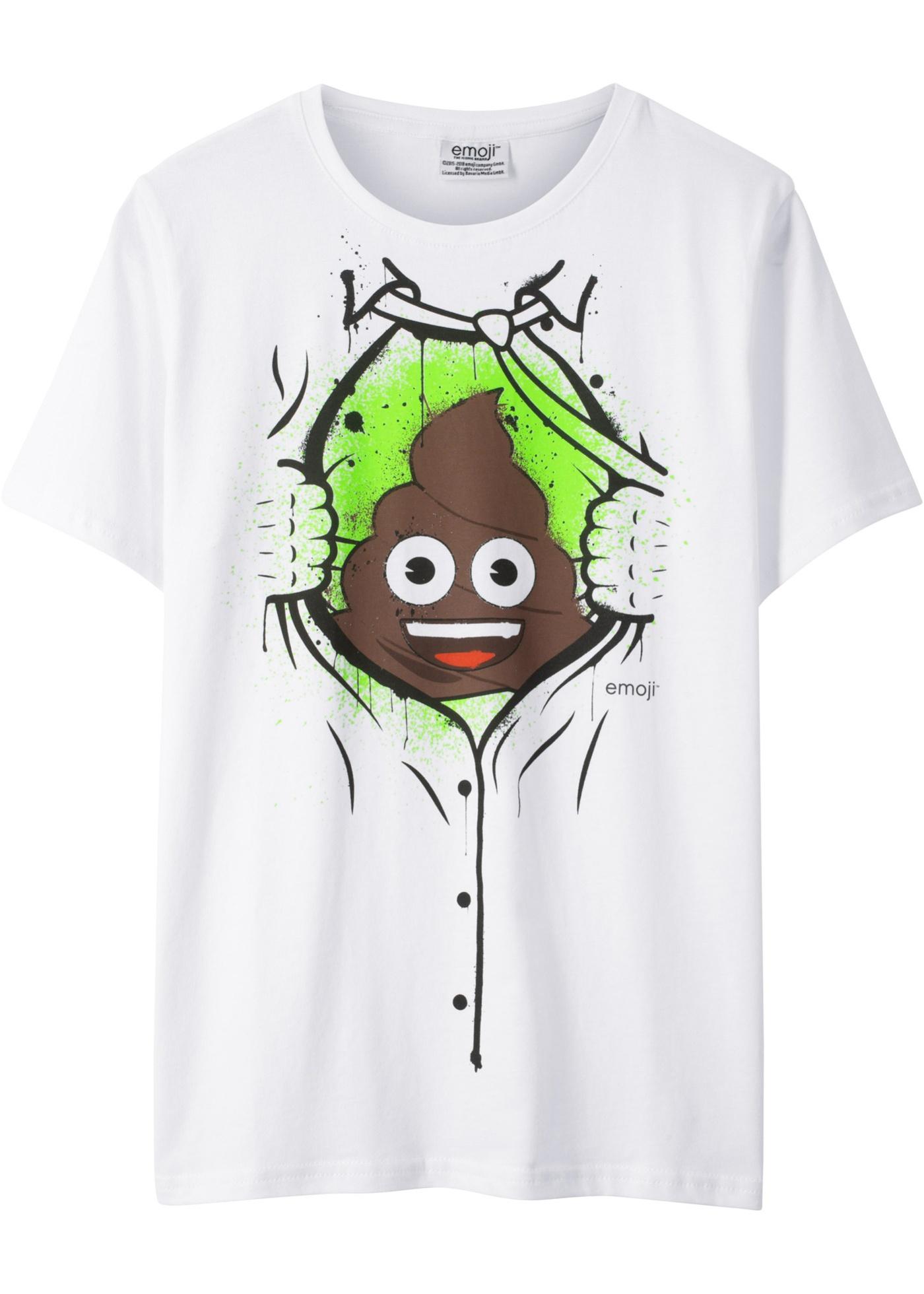 T-shirt EMOJI (Bianco) - emoji