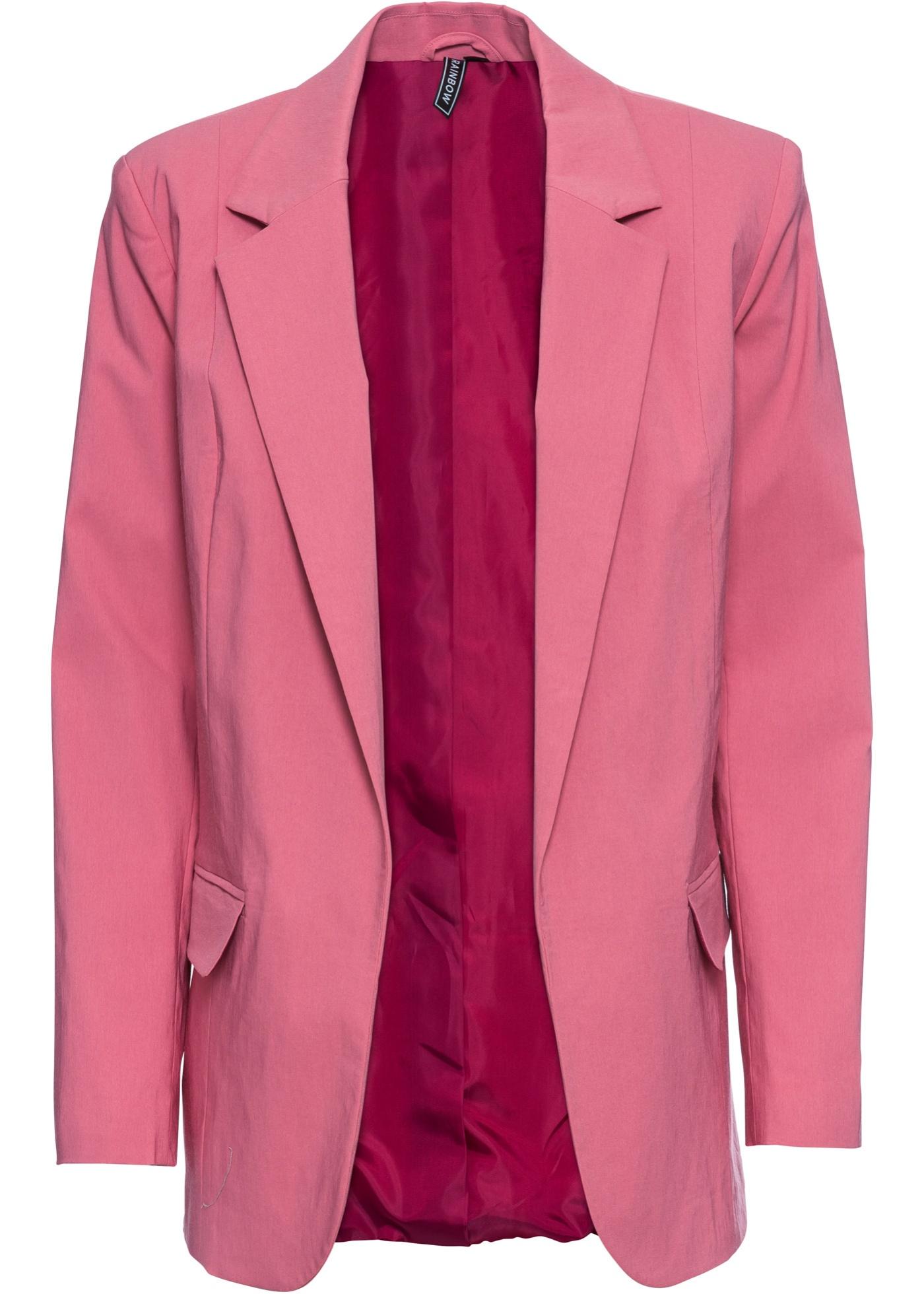 Blazer lungo (rosa) - RAINBOW