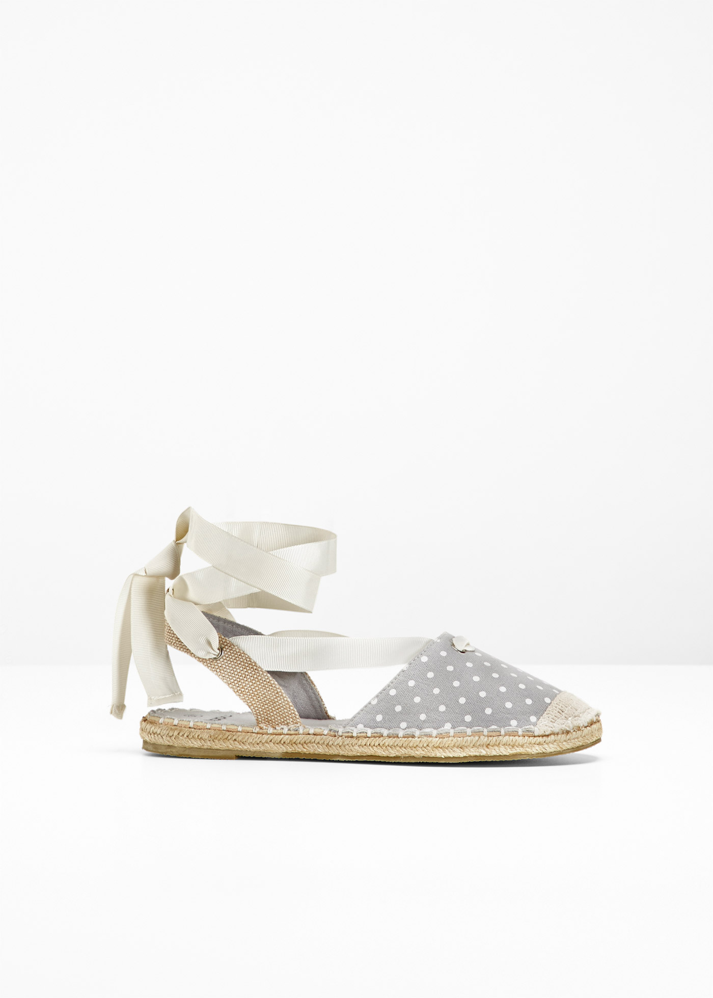Espadrillas (Grigio) - bpc bonprix collection