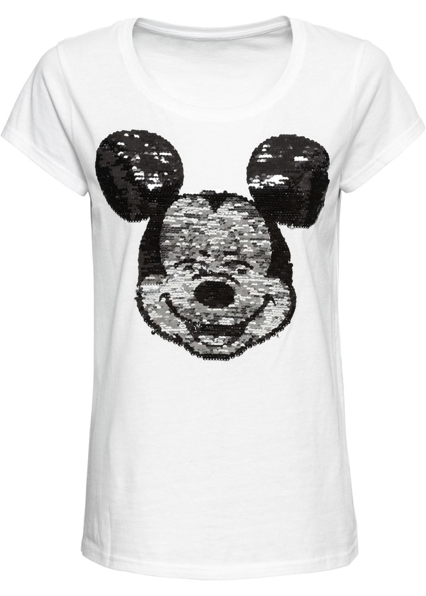 Maglia con paillettes reversibili (Bianco) - Disney