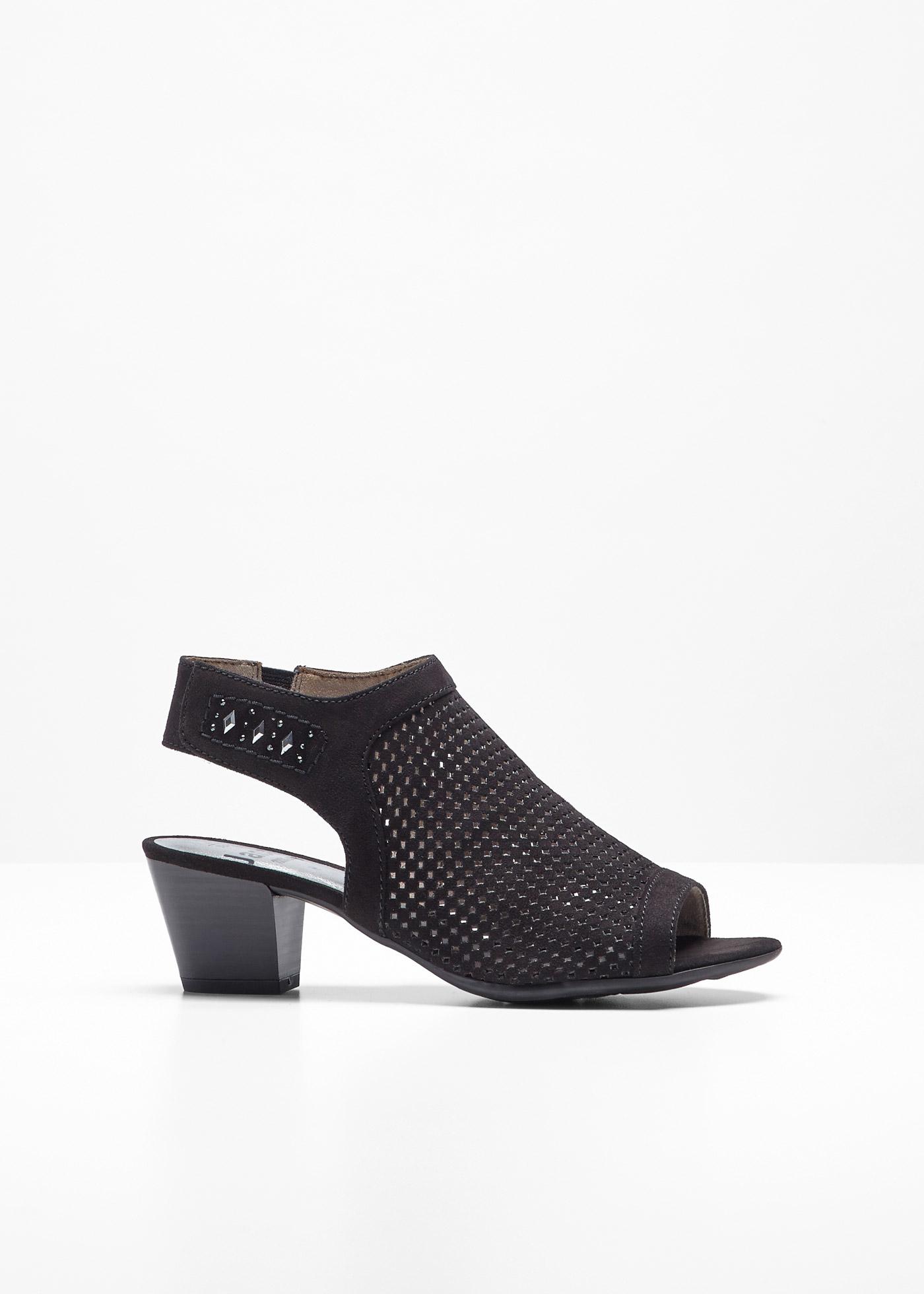 Sandalo comodo Jana (Nero) - Jana