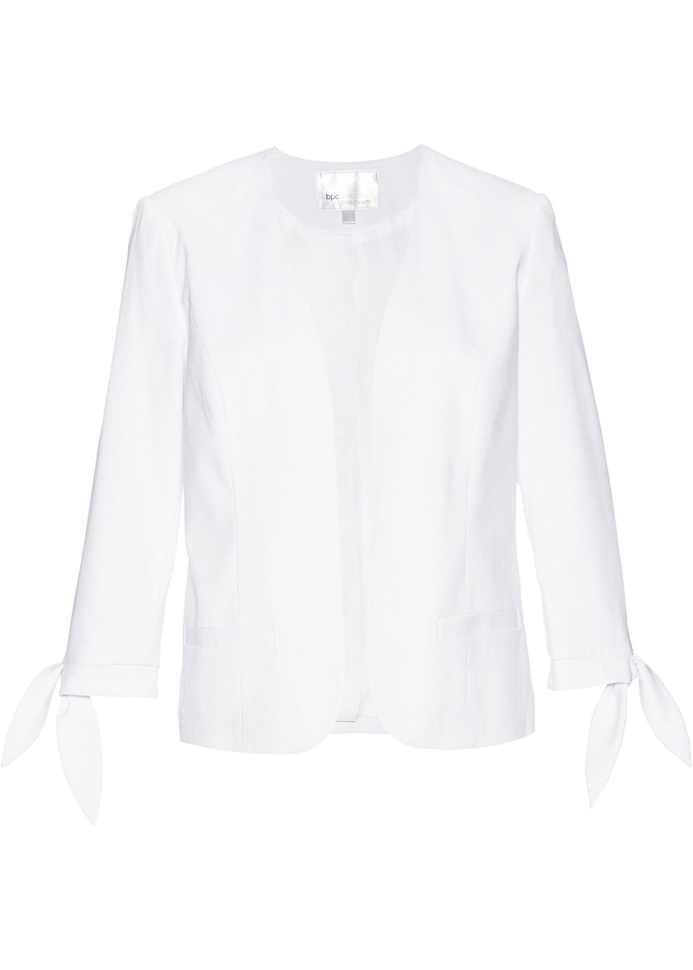 Blazer con manica a 3/4 (Bianco) - bpc selection