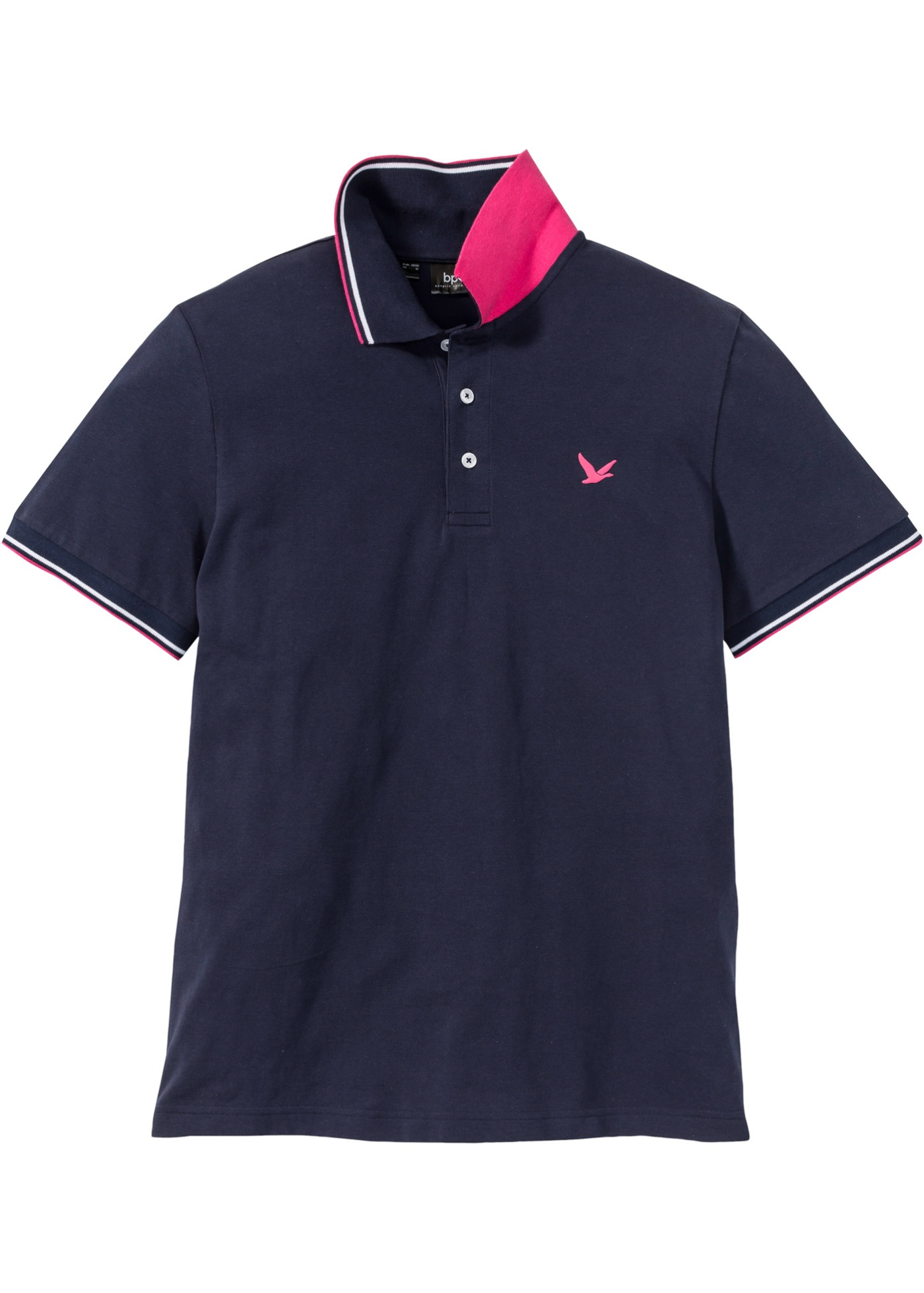 Polo in piquet (Blu) - bpc bonprix collection