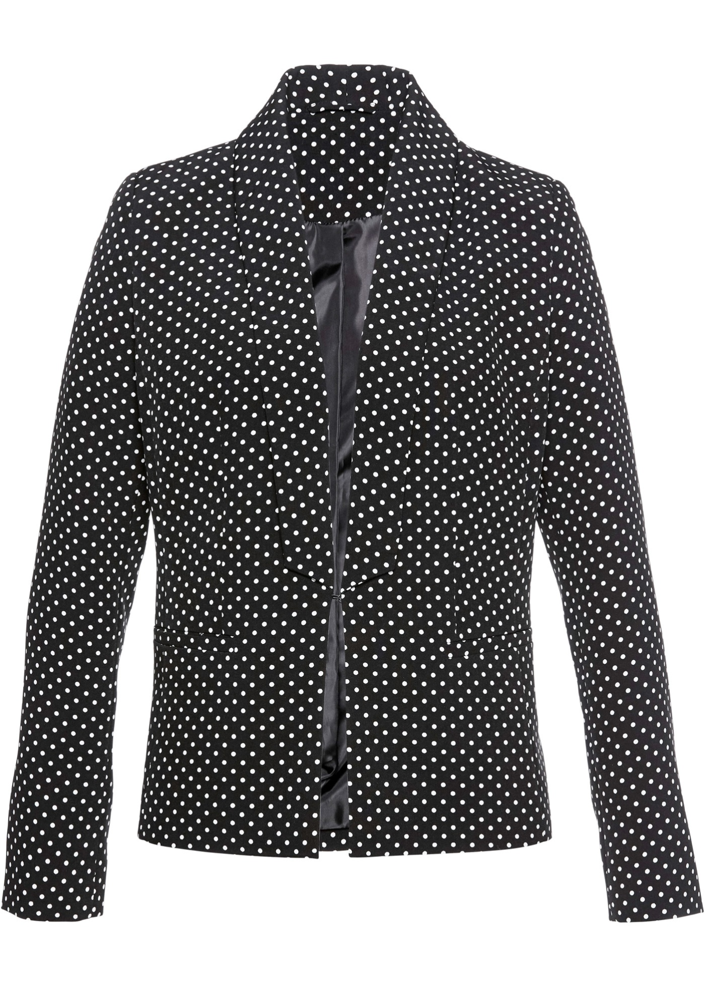 Blazer con collo a revers slim fit (Nero) - bpc selection