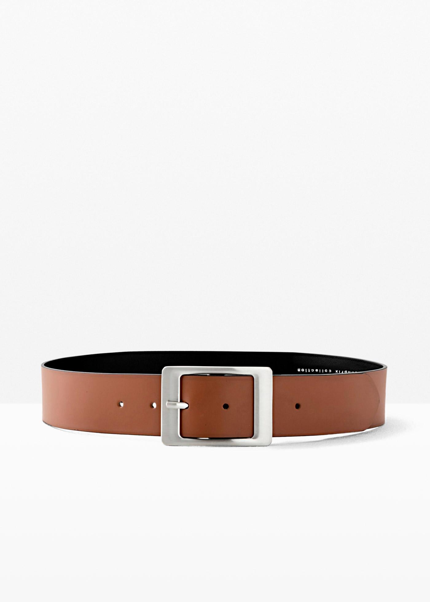 Cintura in pelle Kayla (Marrone) - bpc bonprix collection