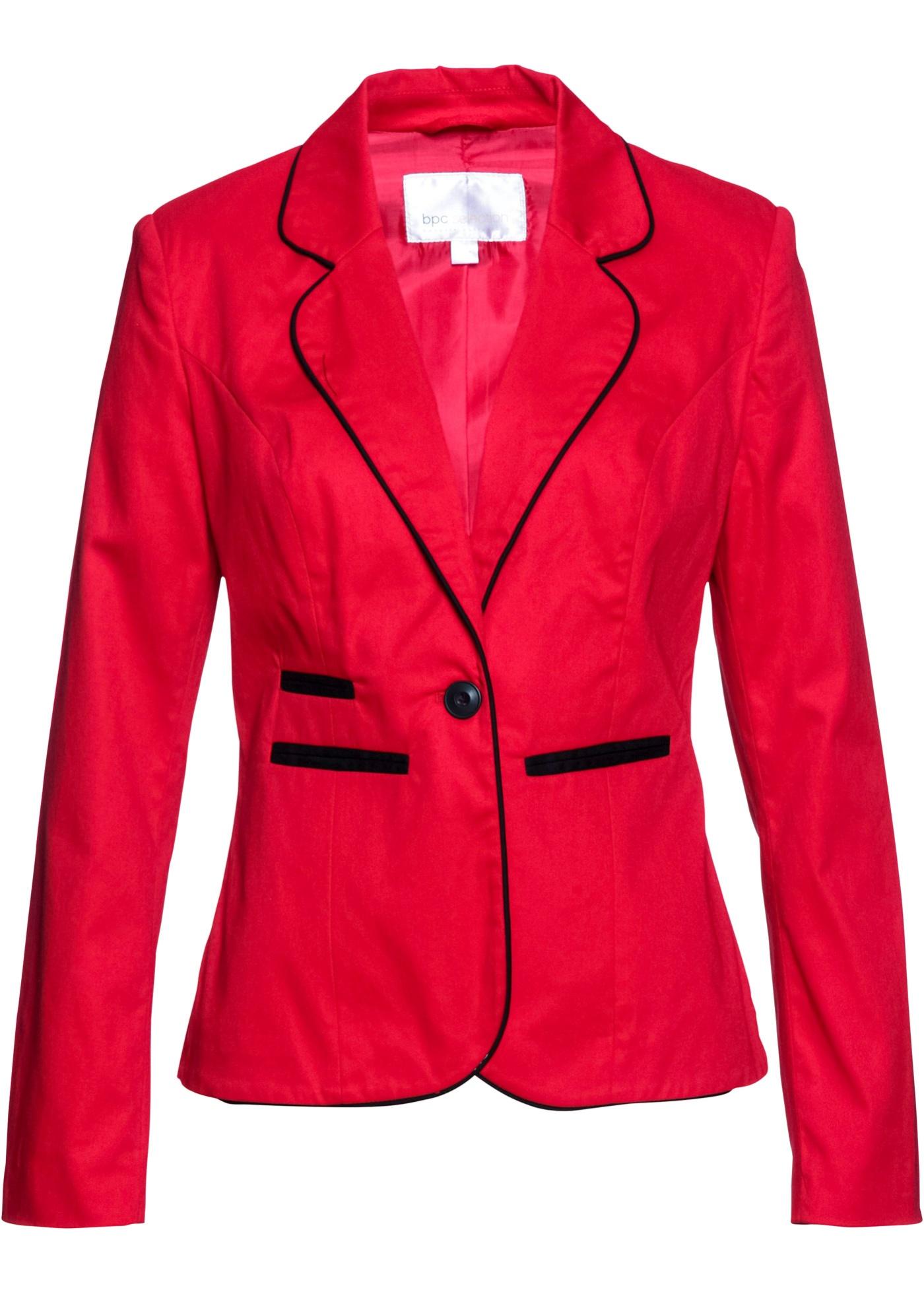 Blazer elasticizzato (Rosso) - bpc selection