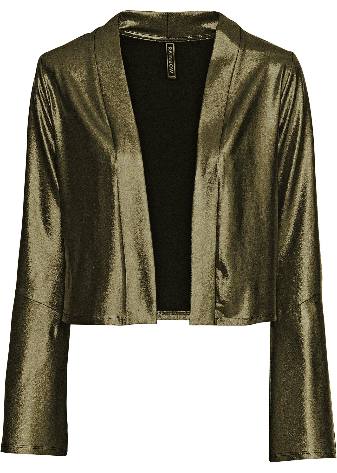 Blazer corto (Oro) - RAINBOW