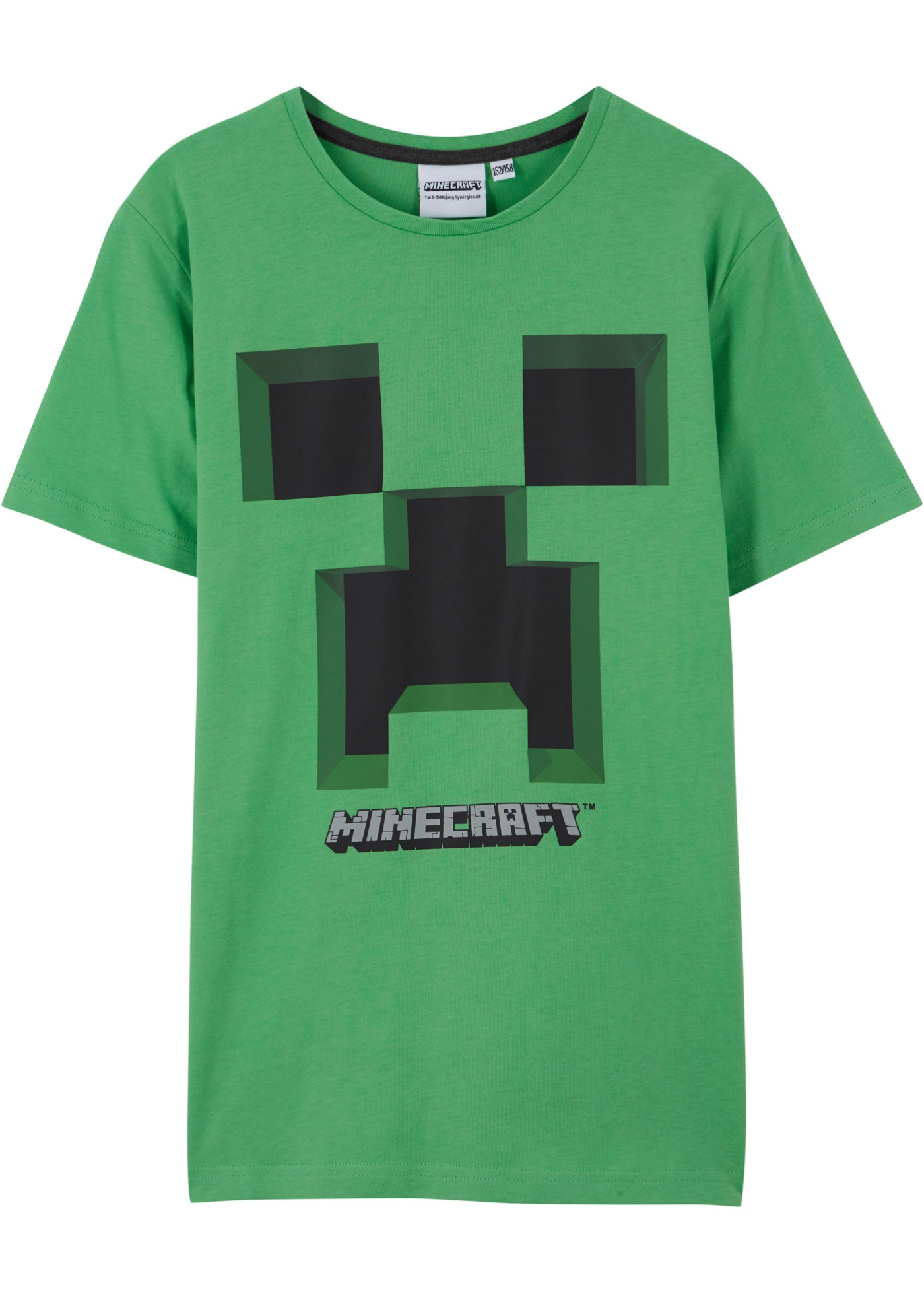 T-shirt (Verde) - Minecraft