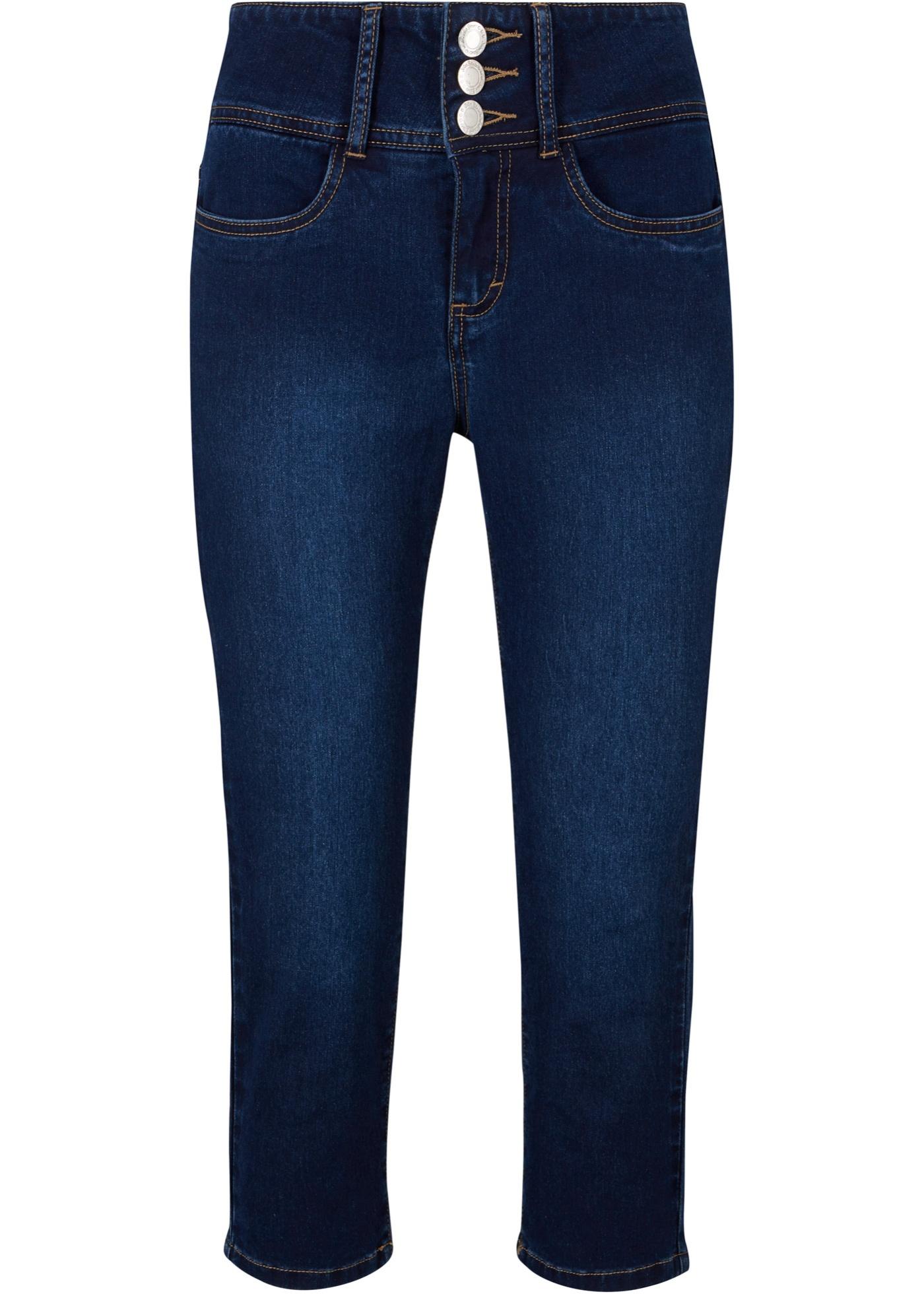 Jeans a pinocchietto powerstrech (Blu) - John Baner JEANSWEAR