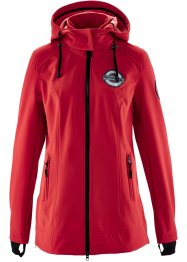 Giacca in softshell, bpc bonprix collection, Rosso scuro