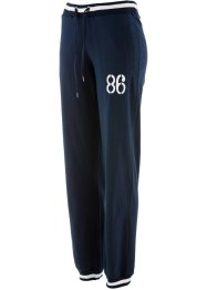 Pantaloni elasticizzati, bpc bonprix collection, Blu scuro