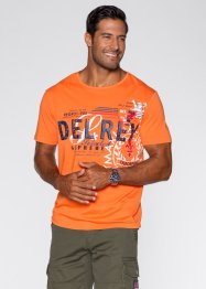T-shirt regular fit, bpc selection, Arancione