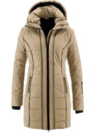 Cappotto funzionale trapuntato, bpc bonprix collection, Beige