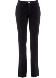 Pantalone elasticizzato corto, bpc bonprix collection, Nero
