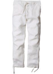 Pantalone di lino regular fit straight, bpc bonprix collection