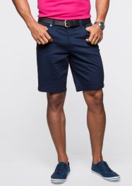 Bermuda elasticizzato classic fit, bpc bonprix collection, Blu scuro