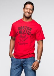 T-shirt regular fit, bpc bonprix collection, Rosso