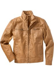 Giacca in similpelle regular fit, bpc bonprix collection, Cognac