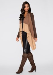 Cardigan, BODYFLIRT boutique, Marrone