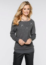 Pullover lungo, bpc selection, Antracite