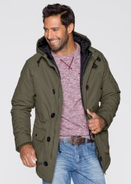 Parka regular fit, bpc bonprix collection, Marrone medio