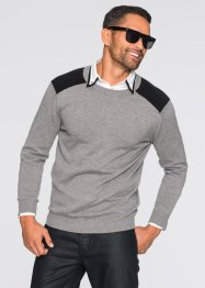 Pullover slim fit, RAINBOW