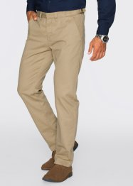 Pantalone chino regular fit diritto, bpc bonprix collection, Beige