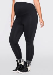Leggings termico prémaman, bpc bonprix collection, Nero