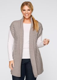 Gilet in maglia, bpc bonprix collection