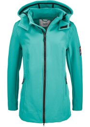 Giacca in softshell, bpc bonprix collection, Verde mare
