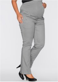 Pantaloni prémaman bootcut, bpc bonprix collection, Grigio neutro