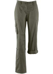 Pantaloni cargo, bpc bonprix collection, Verde oliva scuro