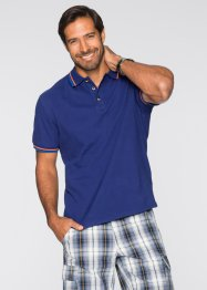 Polo regular fit, bpc selection, Blu notte