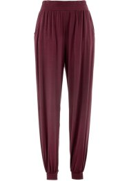 Pantaloni in maglina, bpc bonprix collection, Rosso acero